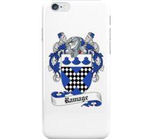 Ramage (Edinburgh) iPhone Case/Skin
