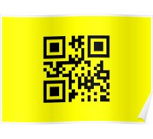 Smiley ☺ Happy Face -- QR Code Poster