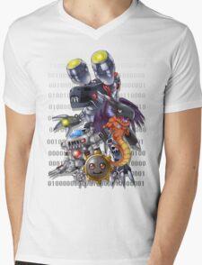 Hagurumon Evolution Mens V-Neck T-Shirt