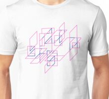 Pink and Blue Array Unisex T-Shirt