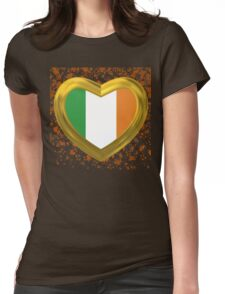 Big love to Ireland Womens Fitted T-Shirt