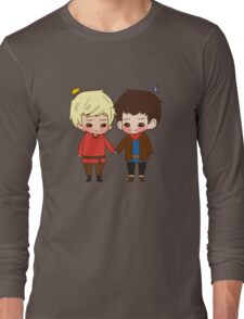 A King and His Sorcerer / A Sorcerer and His King Long Sleeve T-Shirt