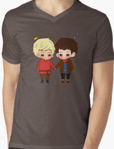 A King and His Sorcerer / A Sorcerer and His King Mens V-Neck T-Shirt