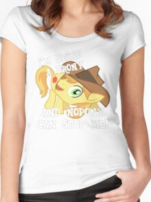 Being a Brony Women's Fitted Scoop T-Shirt