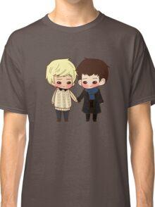 Merlin and Arthur as Sherlock and John Classic T-Shirt