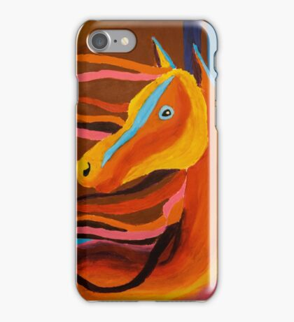 Horse Abstract iPhone Case/Skin