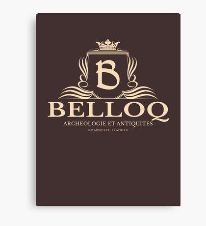 Belloq Antiquities Canvas Print