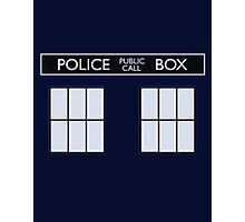 tardis Photographic Print