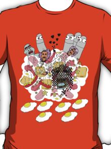 Knitted Lady #5 (knitted ladies in a heavenly place) T-Shirt