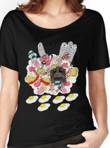 Knitted Lady #5 (knitted ladies in a heavenly place) Women's Relaxed Fit T-Shirt