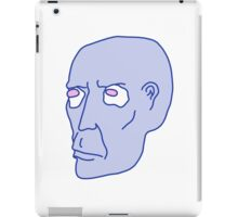 Ol' Blue-head Egg-eyes iPad Case/Skin