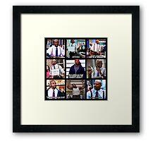 Terry Jeffords Framed Print