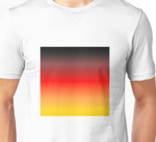Horizon - Black + Red + Gold Unisex T-Shirt