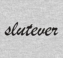 Slutever - Black by hunnydoll