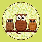 Owlies by Dinara May