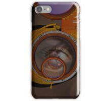 eye as a lens - steampunk iPhone Case/Skin