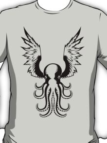 Black Octopus T-Shirt