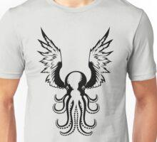 Black Octopus Unisex T-Shirt