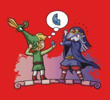 Zelda Vaati and Link  One Piece - Short Sleeve