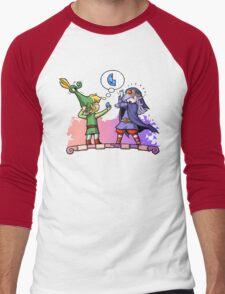 Zelda Vaati and Link  Men's Baseball ¾ T-Shirt