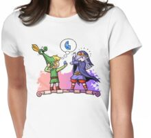 Zelda Vaati and Link  Womens Fitted T-Shirt
