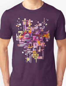 Sunberry - Abstract Watercolor Painting T-Shirt