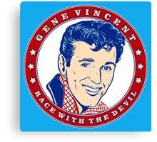 Gene Vincent Race With The Devil Canvas Print