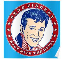 Gene Vincent Race With The Devil Poster