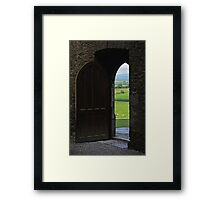 Every New Chapter Provides Intriguing New Doors... Which One Do You Long To Explore? Framed Print