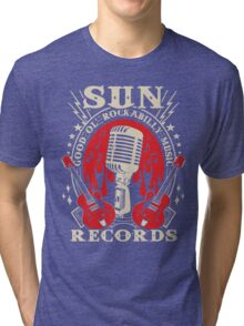 Sun Records : Good Ol' Rockabilly Music Tri-blend T-Shirt