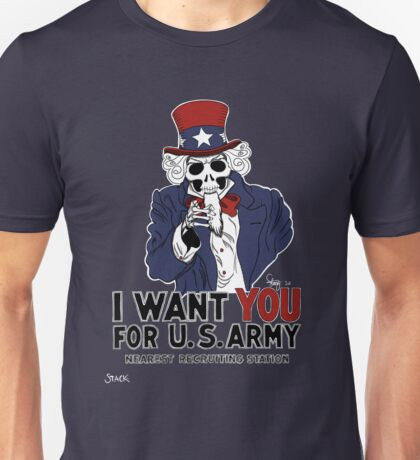 Uncle Sam Wants YOU! Unisex T-Shirt