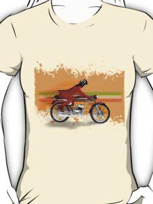 cafe racer mondial girl T-Shirt