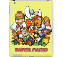 Paper Mario iPad Case/Skin