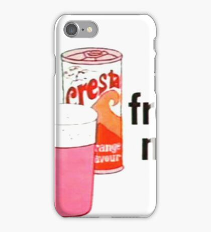 Cresta - IT'S FROTHY MAN iPhone Case/Skin