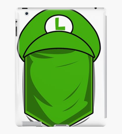 Luigi in my Pocket iPad Case/Skin