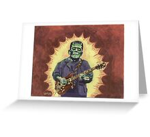 FrankenTiger Greeting Card