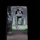 The bicycle & the ruins by petejsmith