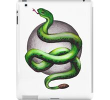 Slytherin Snake iPad Case/Skin
