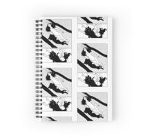 DRowning notepad Spiral Notebook