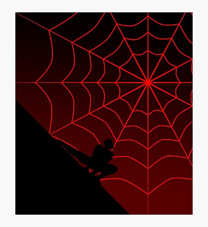 Spider Twilight Series - Miles Morales Spider-Man Photographic Print