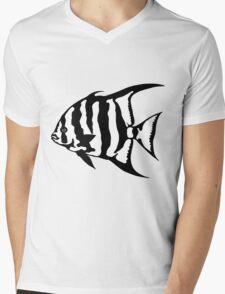 The Atlantic Spade Fish Mens V-Neck T-Shirt