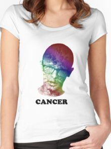 FRICK CANCER with idubbbz Women's Fitted Scoop T-Shirt