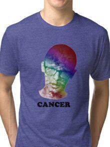 FRICK CANCER with idubbbz Tri-blend T-Shirt