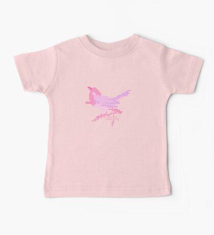 Bird Embroidery for Baby Girl Baby Tee