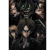 Jaeger Bombs Attack on Titan Epic Painting Photographic Print