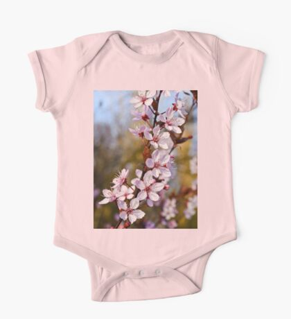 Almond Blossoms in Spring One Piece - Short Sleeve