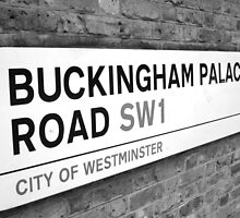 Buckingham Palace Road by Netnoe