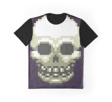 Pixel Skull Graphic T-Shirt