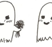 Ghost Crushes Sticker