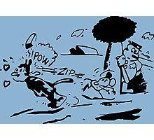 Krazy Kat Jules Fiction Photographic Print